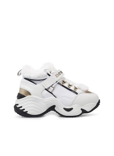 Emporio Armani  Sneaker Ayakkabı Kadın Ayakkabı S X3X122 Xm538 N186 Beyaz